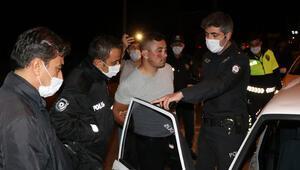 Burdurda dur ihtarına uymayıp, polisten kaçan alkollü sürücüye 16 bin lira ceza