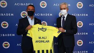 Mehmet Ali Aydınlar, Fenerbahçe Başkanı Ali Koç ile buluştu Sorumluluk hepimizin...