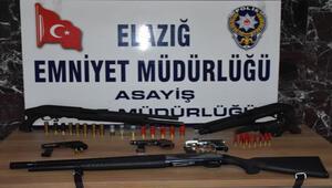 Elazığda çeşitli suçlardan aranan 21 şüpheli tutuklandı