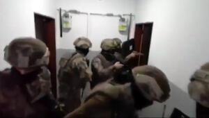 Silahlı ve bombalı eylem gerçekleştiren suç örgütüne operasyon