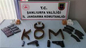 Viranşehirde silah kaçakçılığı operasyonu: 2 gözaltı