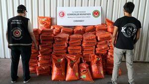 Bomba yapımında kullanılan 3 ton 600 kilo potasyum nitrat ele geçirildi