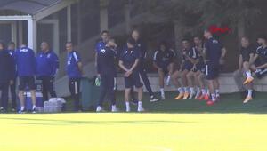 Fenerbahçede Göztepe mesaisi devam etti