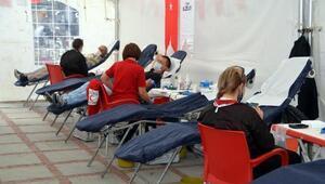 Kızılay, Edirnede kan bağış çadırı açtı