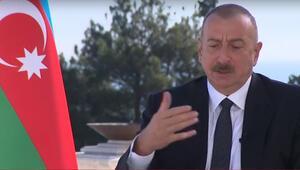 Son dakika... Aliyev ilk kez açıkladı: Zengin iş adamları uçak aldılar silah gönderiyorlar