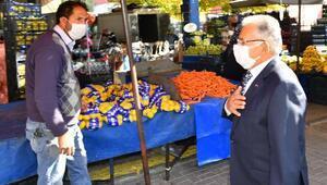 Başkan Büyükkılıç'tan 'koronavirüs' denetimi