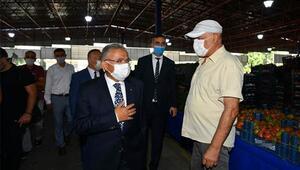Başkan Büyükkılıçtan koronavirüs denetimi