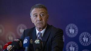 Son Dakika | Trabzonspor Başkanı Ahmet Ağaoğlu, kulübün borcunu açıkladı