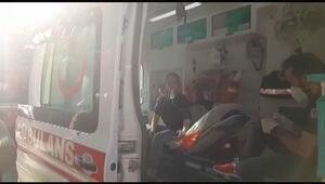 Esenyurt'ta yangında mahsur kalan 12 yaşındaki kız kurtarıldı