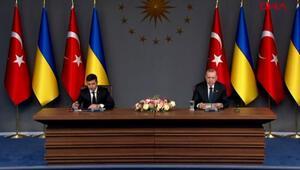 Son dakika haberi: Cumhurbaşkanı Erdoğan ve Zelenskiyden önemli açıklamalar