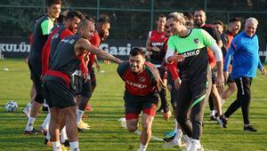 Gaziantep FKde Antalyaspor maçı hazırlıkları