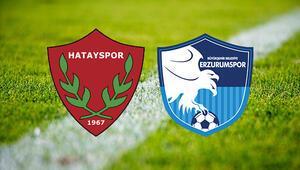 Hatayspor Büyükşehir Belediye Erzurumspor maçı ne zaman TFF maçı erteledi