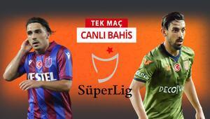 Süper Ligde haftanın maçında Trabzonspor, Başakşehiri konuk edecek Öne çıkan iddaa tercihi...