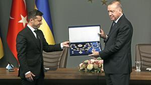 Erdoğana Ukrayna'dan devlet nişanı