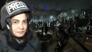 Son dakika haberi: CNN Türk muhabirinin Gencede zor anları Cansız bedenine dokundum