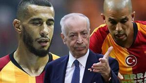 Son Dakika | Galatasarayda Belhanda ve Feghouli krizi büyüyor FIFA ve sözleşme feshi...
