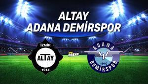 Altay Adana Demirspor maçı ne zaman, saat kaçta, hangi kanalda