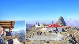 Son dakika haberleri... Bakan Soylu paylaştı... 3450 metrede, Türkiyenin en modern üs bölgesi