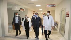 Başkan Şimşek,sağlık çalışanlarını ziyaret etti