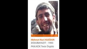 Son dakika... Turuncu kategoride aranan terörist Mehmet Nuri Husidur etkisiz hale getirildi
