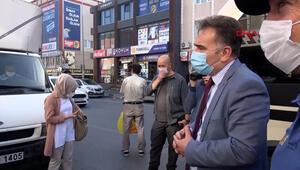 Arnavutköyde ayakta yolcu taşıyan minibüs sürücüsü, kaymakama yakalandı