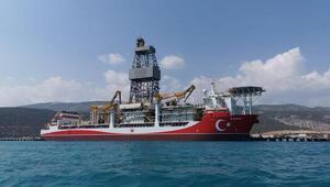 Kanuni sondaj gemisi Çanakkale açıklarına ulaştı