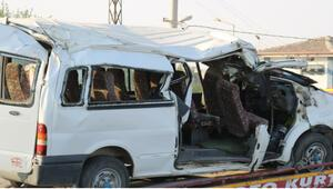 Diyarbakırda feci kaza Ölü ve yaralılar var...