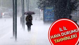 Pazar günü hava nasıl olacak, yağmur yağacak mı İşte 18 Ekim il il hava durumu tahminleri
