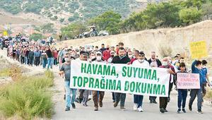 Dikili'de kum ocağı isyanı