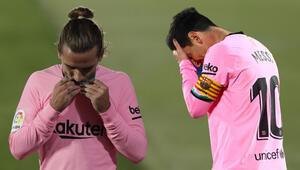 Getafe sahasında Barcelonayı mağlup etti