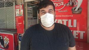 Bakan Kocanın maske uyarısı mesajıyla tanınmıştı... İşlettiği markete hırsız girdi