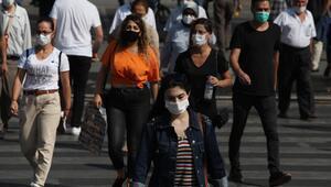 Maske, gripte düşüş yaşattı