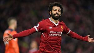 Liverpoolda 100ler kulübünün son üyesi Muhammed Salah