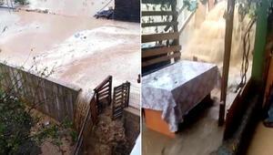 Sultanbeylide üç katlı binanın zemin katını su bastı