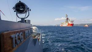 MSB: Kanuniye Deniz Kuvvetlerimize ait gemiler eşlik ediyor