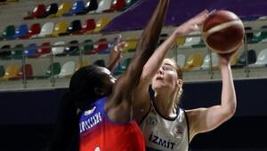 Kadınlar Basketbol Süper Ligi | İzmit Belediyespor 57-72 BOTAŞ 72