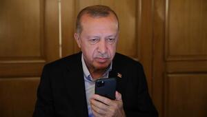 Cumhurbaşkanı Erdoğandan KKTC Cumhurbaşkanı Tatara tebrik telefonu