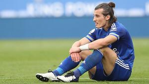 Son dakika haberi   Çağlar Söyüncüden Leicester Cityye kötü haber