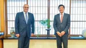 'Türkiye ve Japonya iki devlet bir yürek'