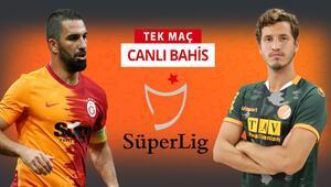 Galatasaray kötü gidişi durdurmak istiyor Alanyaspor karşısında galibiyetlerine iddaada...
