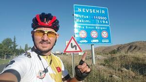 Manisalı öğretmen 7 ayda 6 bin kilometre pedal çevirdi