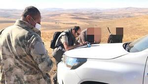 Sivas'ta usulsüz avlanan 54 kişiye 70 bin lira ceza