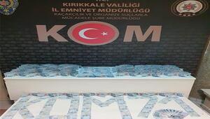 Kırıkkalede 50 bin 300 lira değerinde sahte banknot ele geçirildi