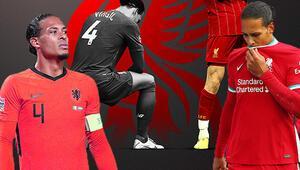 Son Dakika | Liverpoolda Van Dijkın sezonu kapatınca Milli futbolcu...