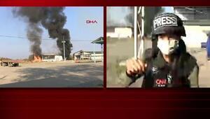 Ermenistanın bombalı saldırısı CNN TÜRK canlı yayınında gerçekleşti