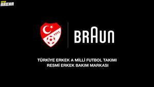 Braun,Türk A Milli Futbol Takımı'nın Resmi Erkek Bakım Sponsoru Oldu