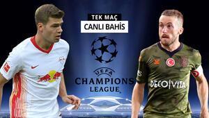 Başakşehirin Şampiyonlar Ligi serüveni başlıyor RB Leipzig karşısında verilen iddaa oranı...