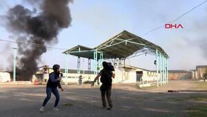 Son dakika haberler: Ermenistan, Azerbaycan Terterdeki pamuk fabrikasına 7 top mermisiyle saldırdı
