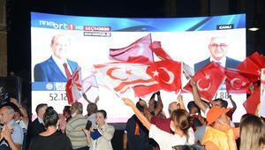 Kuzey Kıbrıs Türk Cumhuriyetinde yeni Cumhurbaşkanı Ersin Tatar mazbatasını aldı
