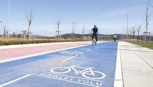 'Bisiklete dikkat' kampanyası